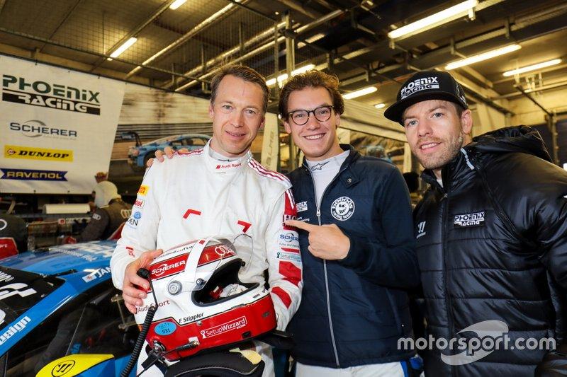 Pole sitter #5 Phoenix Racing Audi R8 LMS- Frank Stippler, Vincent Kolb, Steve Jans