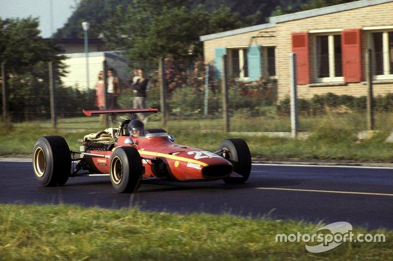 2: Jacky Ickx, 23 años, 6 meses y 6 días en el GP de Francia 1968