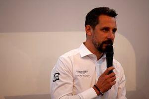 Dr. Florian Kamelger, fundador y propietario de AF Racing AG y director del equipo R-Motorsport