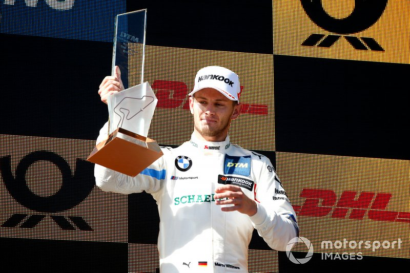 Podio: terzo classificato Marco Wittmann, BMW Team RMG