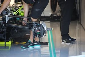 Mercedes AMG F1 W10 front brakes detail