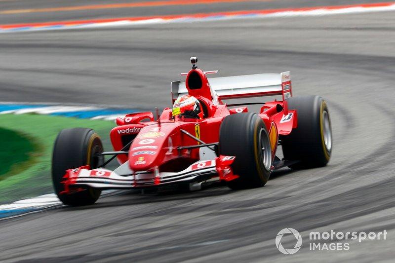 Mick Schumacher, Ferrari F2004