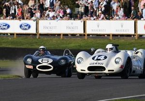 Sussex Trophy John Young Jaguar D Type