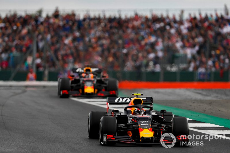Pierre Gasly, Red Bull Racing RB15, Max Verstappen, Red Bull Racing RB15