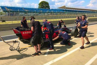 Pierre Gasly, Red Bull Racing, Test Pirelli a Silverstone