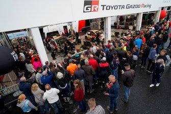 Área de servicio de Toyota Gazoo Racing WRT