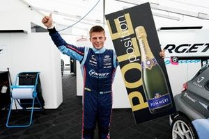 Pole sitter Andreas Bäckman, Target Competition Hyundai i30 N TCR