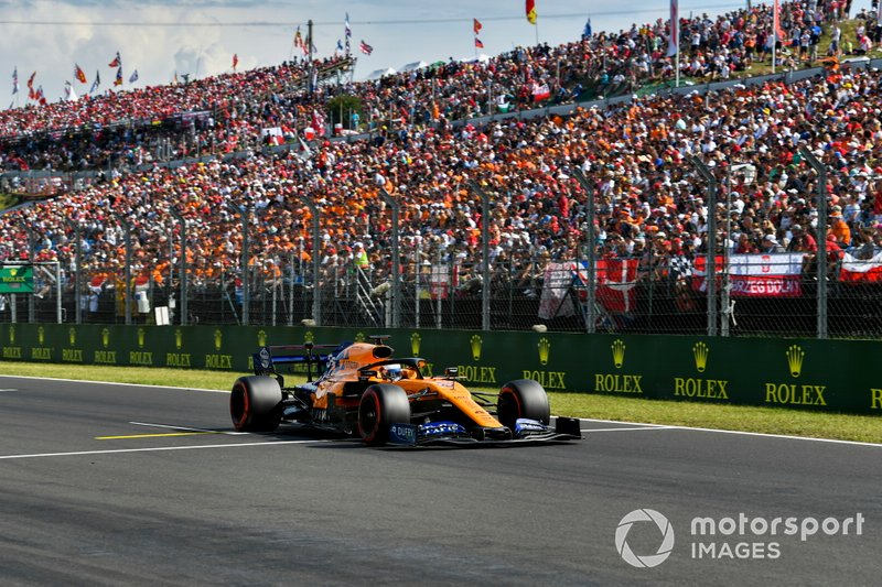 'Smooth operator' Sainz beats Gasly to fifth