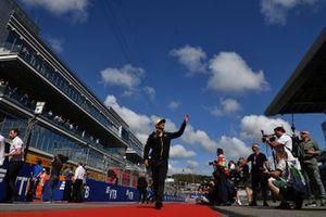 Daniel Ricciardo, Renault F1 Team, en el desfile