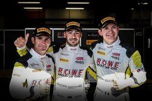 Pole sitter #98 ROWE Racing Porsche 911 GT3 R: Mathieu Jaminet, Romain Dumas, Sven Müller