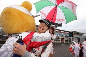 Race winner Kenta Yamashita, Kondo Racing