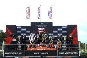 Tom Sykes, BMW Motorrad WorldSBK Team, Johnathan Jonathan Rea, Kawasaki Racing Team, Leon Haslam, Kawasaki Racing Team