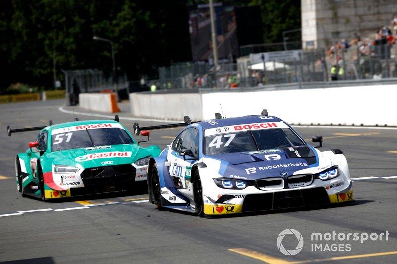 Joel Eriksson, BMW Team RBM, BMW M4 DTM, Nico Müller, Audi Sport Team Abt Sportsline, Audi RS 5 DTM