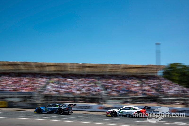 Philipp Eng, BMW Team RBM, BMW M4 DTM, René Rast, Audi Sport Team Rosberg, Audi RS 5 DTM