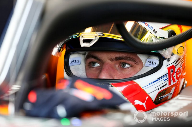 Schuberth's F1 customers: Max Verstappen, Red Bull Racing