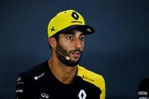 Daniel Ricciardo, Renault F1 Team in the Press Conference