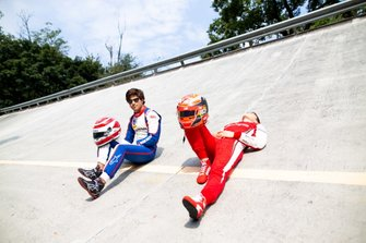Marcus Armstrong, PREMA Racing and Pedro Piquet, Trident