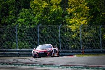 #26 Sainteloc Racing Audi R8 LMS GT3: Steven Palette, Markus Winkelhock