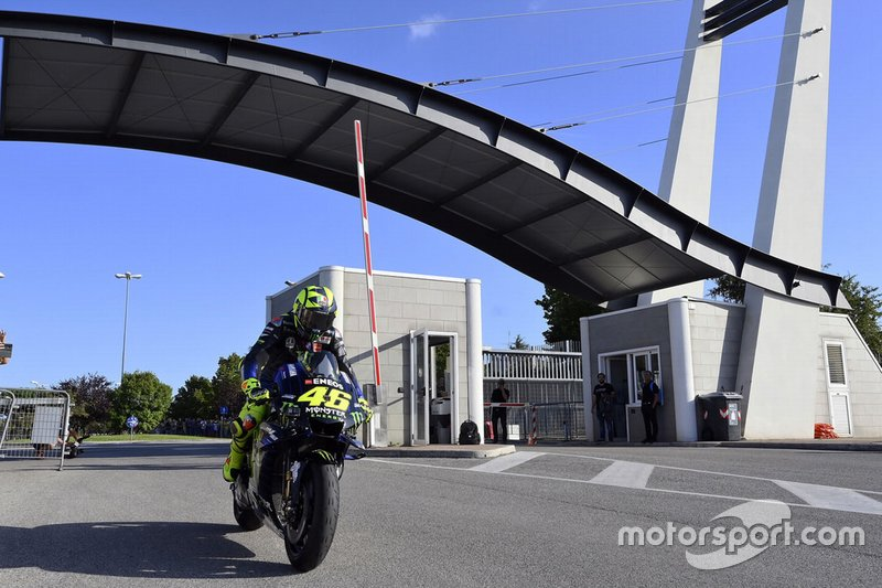 Valentino Rossi, Yamaha Factory Racing a Misano