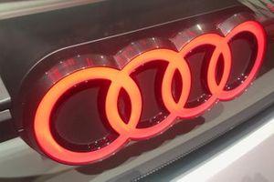 Logo Audi al Salone di Francoforte