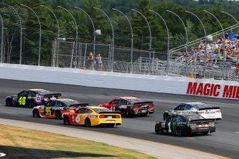 Renn-Action auf dem New Hampshire Motor Speedway in Loudon