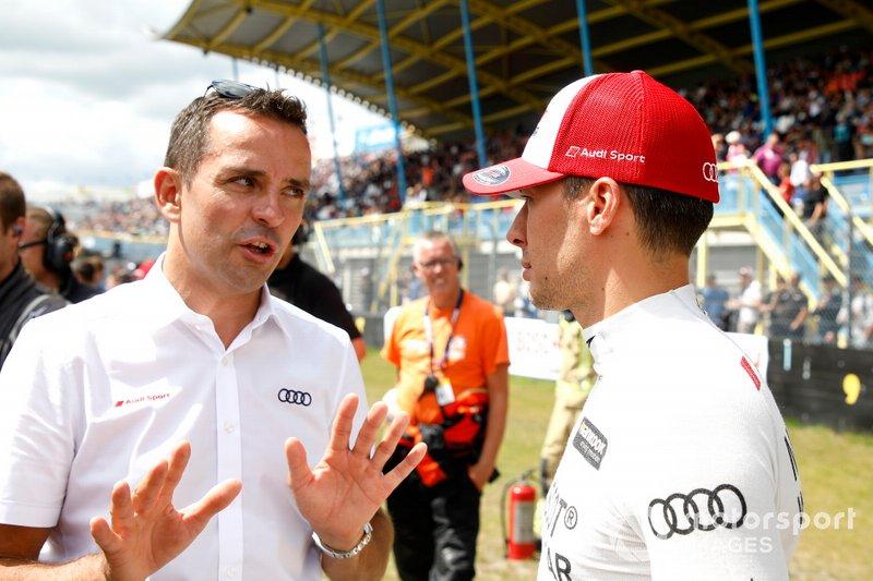 Benoît Tréluyer e Loic Duval, Audi Sport Team Phoenix