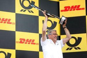 Podium: Ernst Moser, Audi Sport Team Phoenix