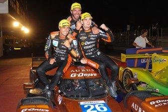 1. #26 G-Drive Racing Aurus 01 Gibson: Roman Rusinov, Job Van Uitert, Jean-Eric Vergne
