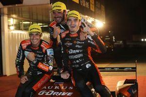 Yarış galibi #26 G-Drive Racing Aurus 01 Gibson: Roman Rusinov, Job Van Uitert, Jean-Eric Vergne