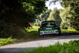 Jan Kopecky, Pavel Dresler, Skoda Fabia R5, Barum Czech Rally Zlin, FIA ERC