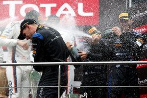 Podium: #6 BLACK FALCON Mercedes-AMG GT3: Abdulaziz Al Faisal, Hubert Haupt, Patrick Assenheimer, Gabriele Piana