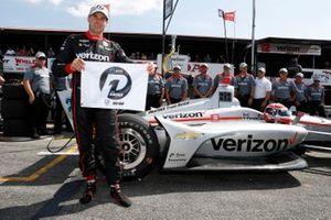 Will Power, Team Penske Chevrolet signe la pole position