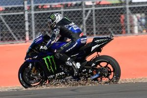Maverick Vinales, Yamaha Factory Racing, running wide