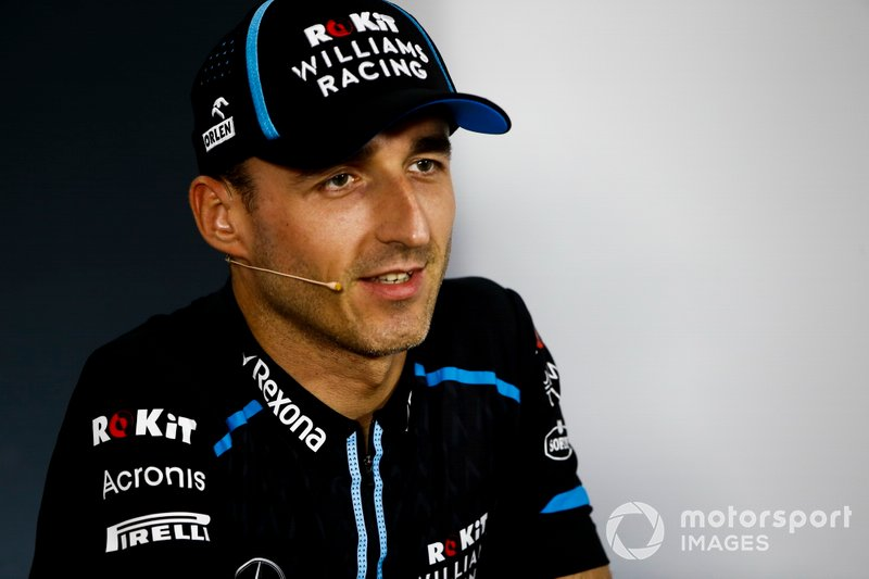 Williams: Robert Kubica - Sem contrato