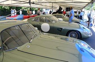 Aston Martin à l'honneur