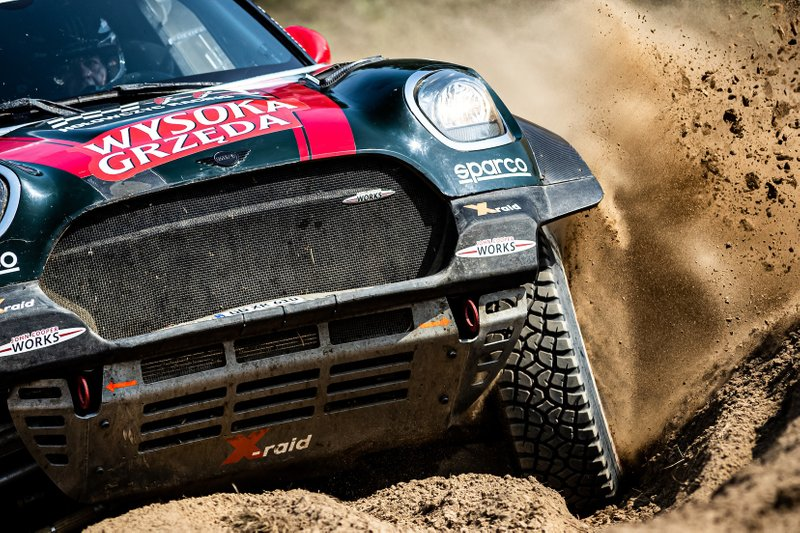 Krzysztof Hołowczyc, Łukasz Kurzeja, MINI John Cooper Works Rally, Orlen Baja Poland 2019