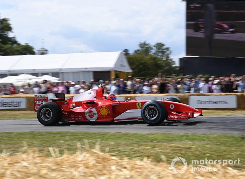 Ferrari F2004 Lius Perez