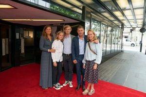 Tom Kristensen con la sua famiglia