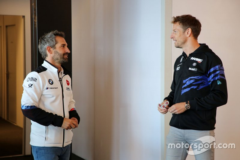 Timo Glock, BMW Team RMG, Jenson Button, Team Kunimitsu Honda