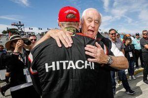 Title Winner Josef Newgarden, Team Penske Chevrolet, Roger Penske