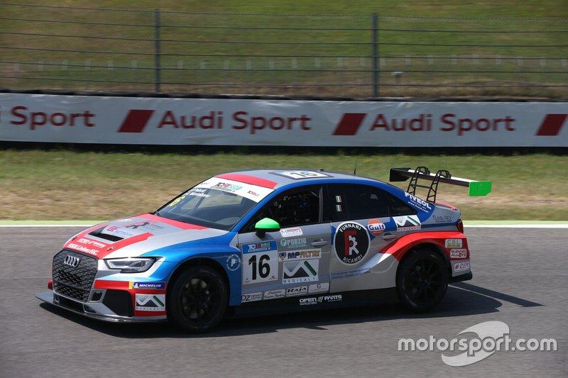 Montalbano Palanti Bf Motorsport Audi Rs3 Lms Tcr Dsg A Mugello