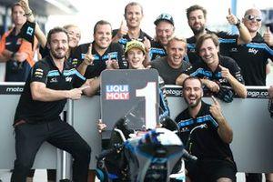 Ganador de la pole Celestino Vietti, Sky Racing Team VR46