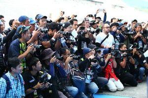 Fotografi alla gara di Fuji