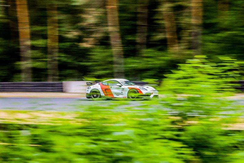 Jan antoszewski, Porsche 718 Cayman GT4 Clubsport