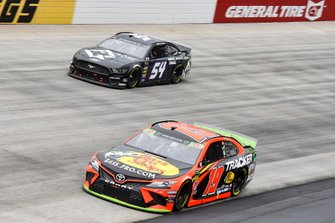Martin Truex Jr., Joe Gibbs Racing, Toyota Camry Bass Pro Shops, Garrett Smithley, Rick Ware Racing, Chevrolet Camaro