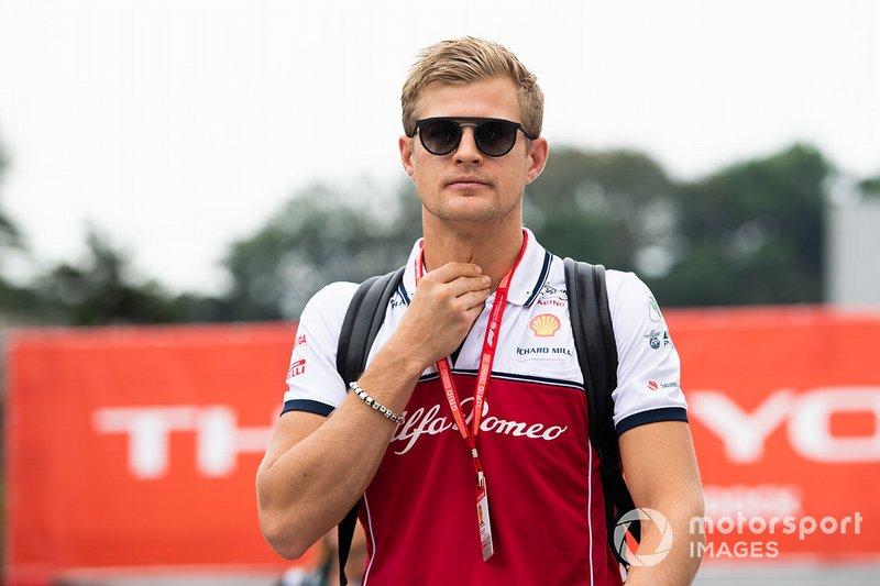 Marcus Ericsson, Alfa Romeo Racing, Brand Ambassador and Third Driver