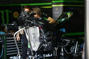 La moto di Leon Haslam, Kawasaki Racing Team