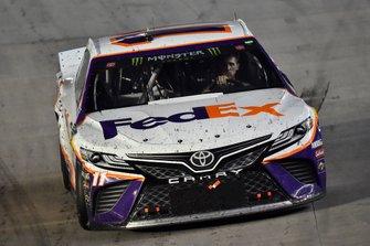 1. Denny Hamlin, Joe Gibbs Racing, Toyota Camry FedEx Freight