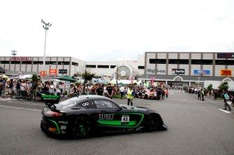 #43 Team Strakka Racing Mercedes-AMG GT3: Christina Nielsen, Dominik Baumann, Adrian Henry D'Silva