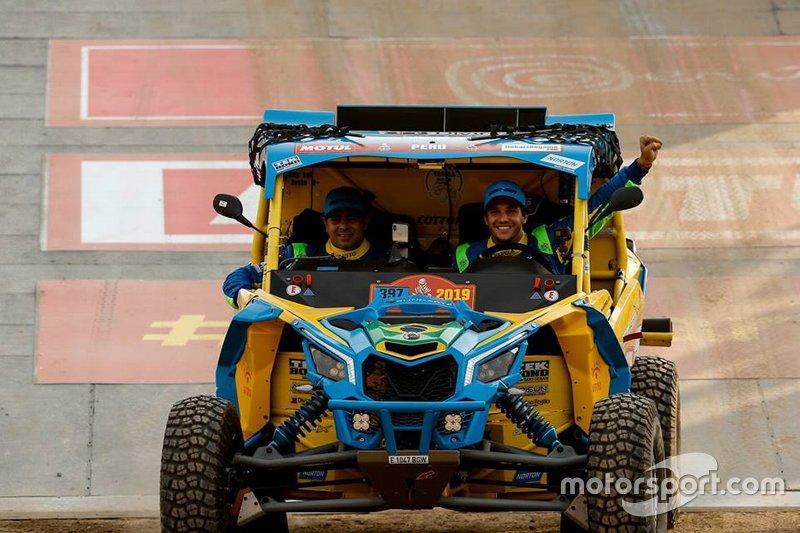 Bruno Varela e Maykel Justo no Dakar 2019